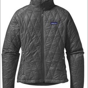 Grey Patagonia Nano Puff Jacket